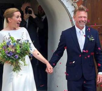 Danish PM says 'I Do' after postponing nuptials thrice