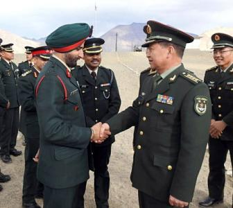 India-China engaging diplomatically, militarily: FS