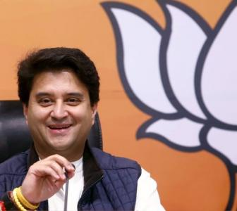 Scindia to file RS nominations from BJP on Friday
