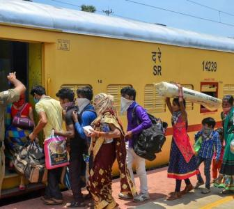 How Railways is ferrying 10 mn workers