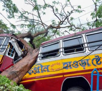 12 dead as Cyclone Amphan tears into West Bengal