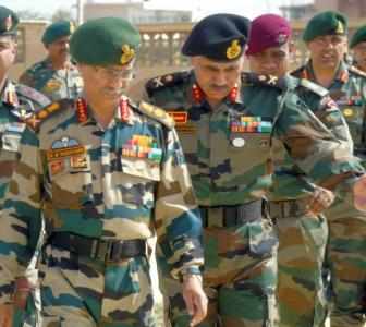 Top Army commanders meet amid tension with China