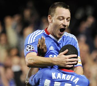 CL images: Chelsea, Arsenal cruise to comfortable wins