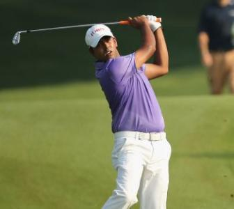 Lahiri finishes strongly to rise to fourth at Queen's Cup