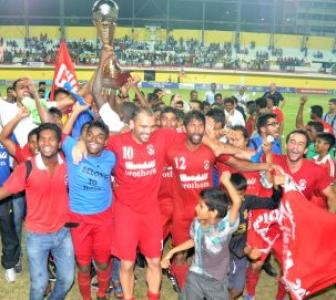 Churchill Brothers crowned I-League champions