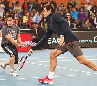 IPTL PHOTOS: Good times roll when Bollywood stars meet tennis greats
