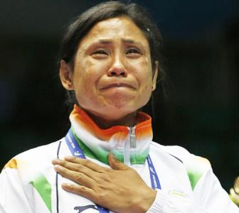 As ban ends... Sarita says she's now 'a better, thinking boxer'