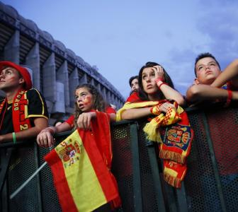 'Fans won't return to Spanish stadiums for now'