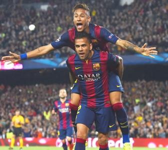 CL PHOTOS: Brilliant Bayern, Barcelona reach semis