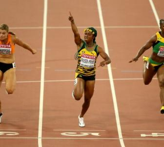World Athletics: Fraser-Pryce wins third world 100 metres title
