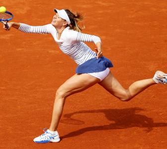 French Open PHOTOS: Defending champion Sharapova knocked out