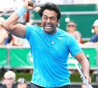 A different sort of century for legendary Leander Paes!