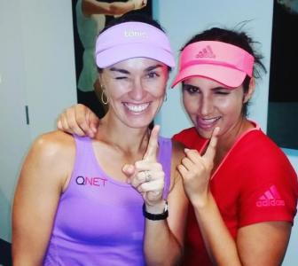 Sania-Hingis advance to US Open semis