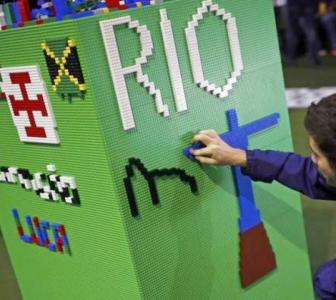 Lego presents Olympic model of Rio city ahead of games