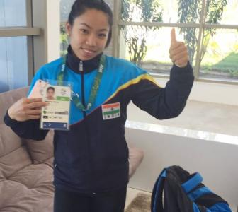 Lifter Mirabai aims for medal at Rio Games