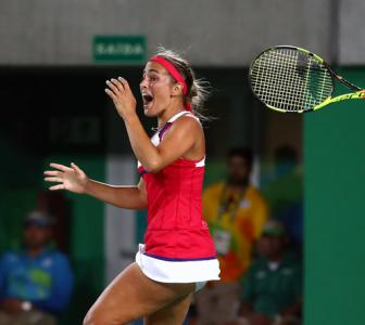 Tennis: Puig downs Kerber to give Puerto Rico first Olympic gold