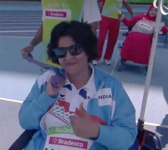 Deepa Malik first woman to win Paralympics medal with shot put silver