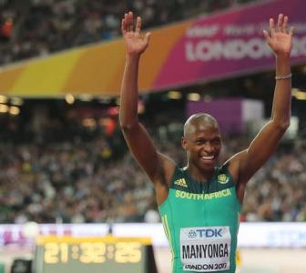 World C'ships: Manyonga claims long jump gold; Discus gold for Gudzius
