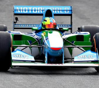PHOTOS: Schumacher's son Mick takes father's 1994 car for a spin