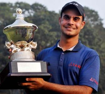 Looking forward to play with Tiger Woods: Sharma