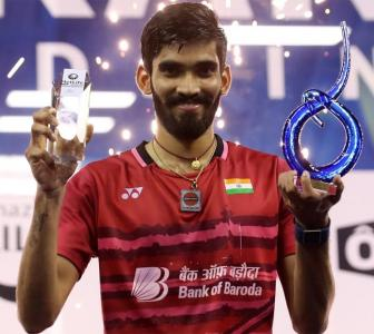 Srikanth recommended for Khel Ratna after apology
