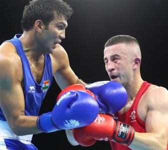 5 Indians in boxing semis, assured of medals at debut CWG