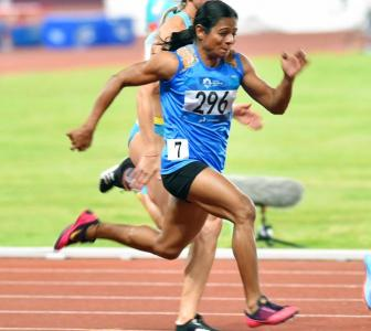 I ran with my eyes closed: Dutee on historic silver at Asian Games