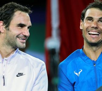 What brings Nadal and Federer together