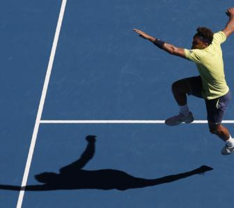 Aus Open: Tsonga edges Shapovalov to strike blow for old guard