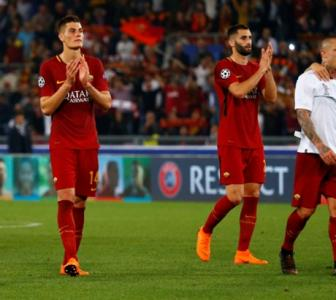 Roma president slams referee after Champions League defeat
