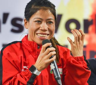 Will give 100 per cent to make my country proud: Mary Kom