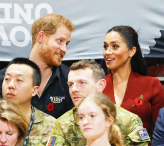 PHOTOS: Royals Harry and Meghan watch Invictus Games in Sydney
