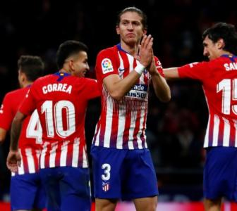 Football Roundup: Atletico go top of La Liga