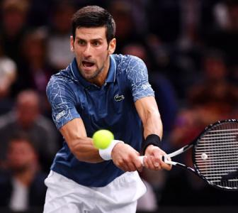 Paris Masters PIX: In-form Djokovic inches closer to No 1 ranking