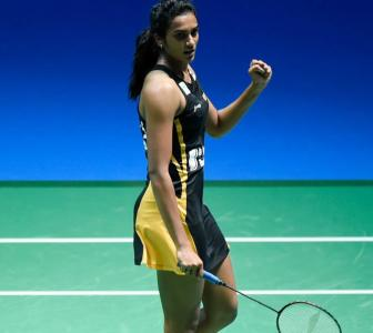 Congratulate golden girl Sindhu on her World crown