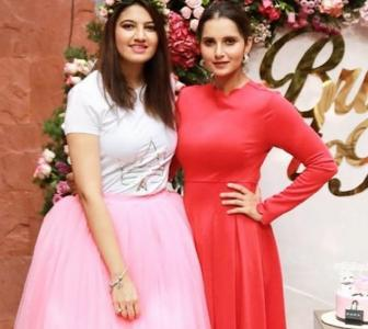 Sania Mirza gears up for sister's wedding