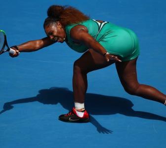 Serena juggles business, motherhood before beating Bouchard