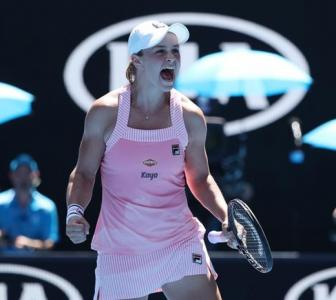 Aus Open PICS: Barty rallies past Sharapova; Collins hammers Kerber