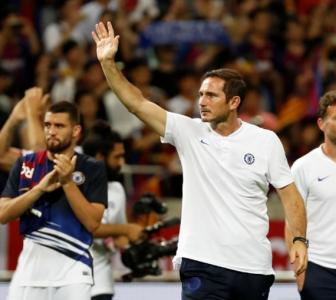 Lampard gets message across to players in Barca win