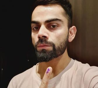 Go vote, says Virat Kohli