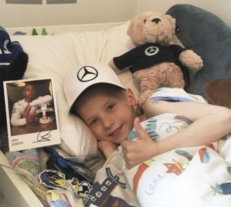 Hamilton and Mercedes' heart-warming gesture