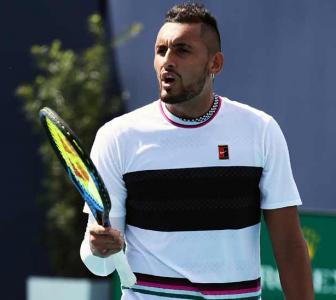 Tennis: Kyrgios hits back at Coric