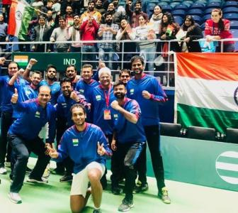 Davis Cup: India rout Pak; qualify for WG Qualifiers
