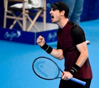 Tennis: Murray claims first title after hip surgery