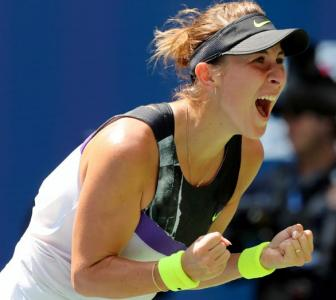 US Open PIX: Bencic enters first-ever Grand Slam semis