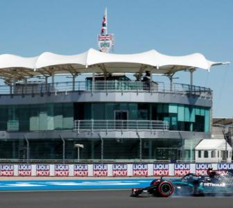 Hamilton back on top in 70th Anniversary GP practice