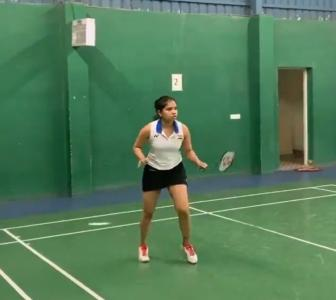Sindhu, Praneeth & Sikki resume training