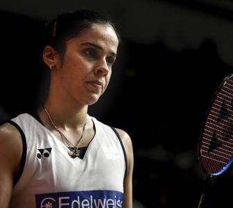 Saina resumes training with husband Kashyap