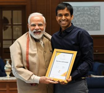 PHOTO: Pullela Gopichand meets PM Modi