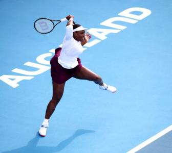 Tennis: Serena breezes into second round in Auckland